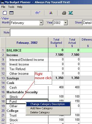 my budget planner simple personal budgeting software