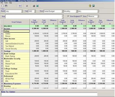 My Budget Planner - Personal Budgeting Software
